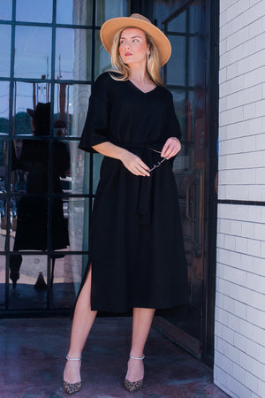 MCKENNA DRESS [BLACK]