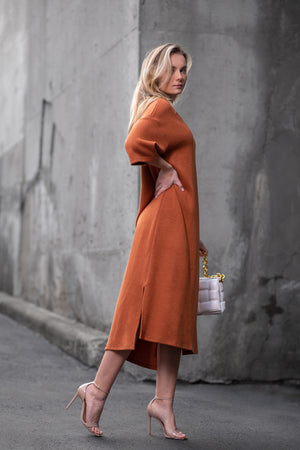 MCKENNA DRESS [ORANGE]
