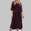 MCKENNA DRESS [PLUM]