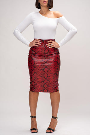 RAQUEL SKIRT [RED]