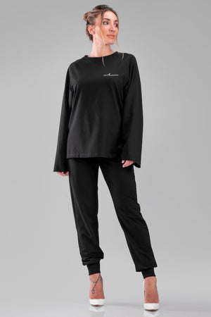 NORAH SWEATSHIRT [BLACK]