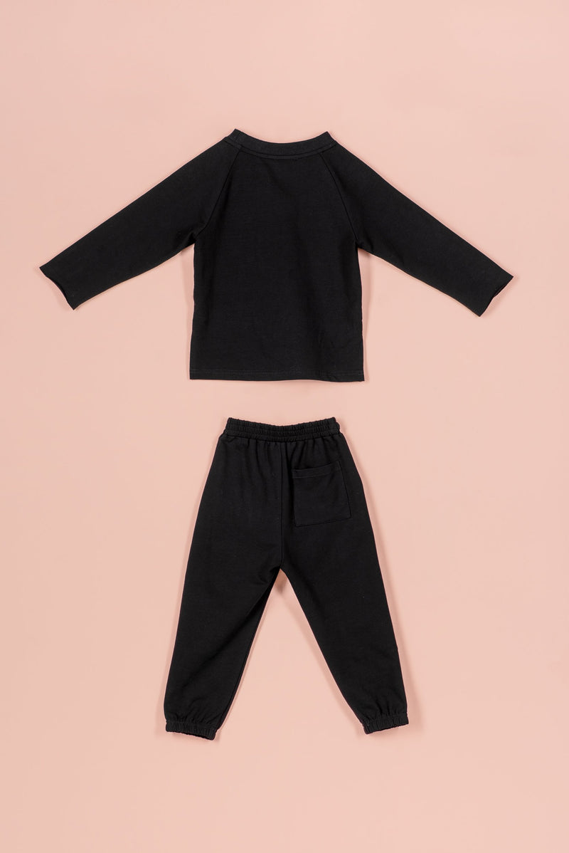 IVY NORAH JOGGER SET [BLACK]