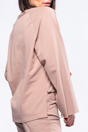 NORAH SWEATSHIRT [BROWN]