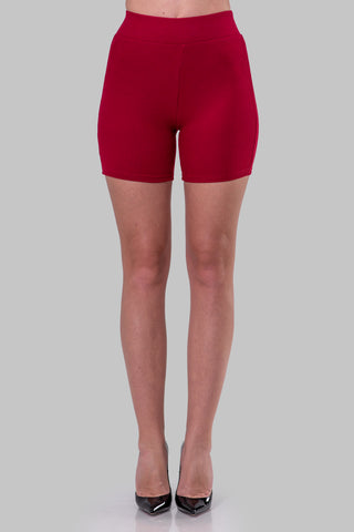 NORMA BIKER SHORTS [RED]