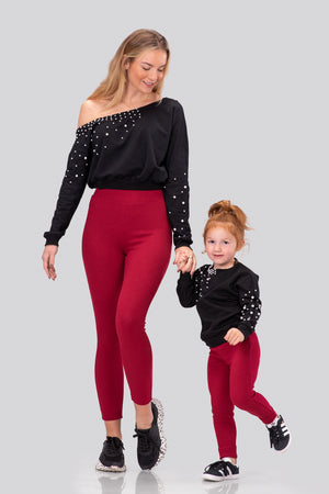 IVY NORMA LEGGINGS [RED]