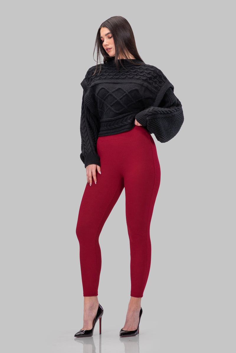 NORMA LEGGINGS [RED]