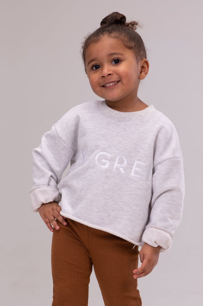 IVY KAI SWEATSHIRT [HEATHER GRAY]