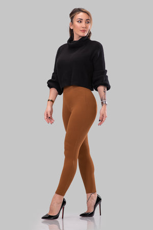 NORMA LEGGINGS [RUST]