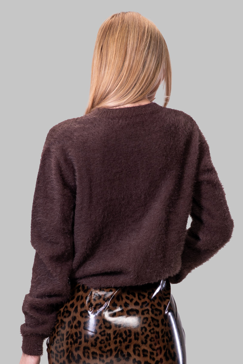 PATRICIA SWEATER [BROWN]