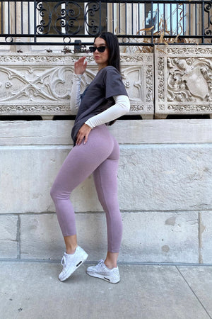 NORMA LEGGINGS [PURPLE]