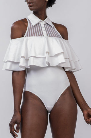 RUTH BODYSUIT [WHITE]