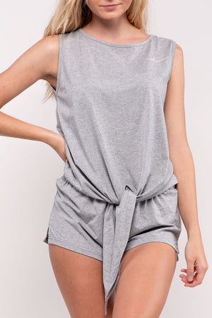 BYE GRAY SHORTS SET