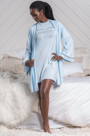 CURRENTLY RESTING ROBE [BLUE]