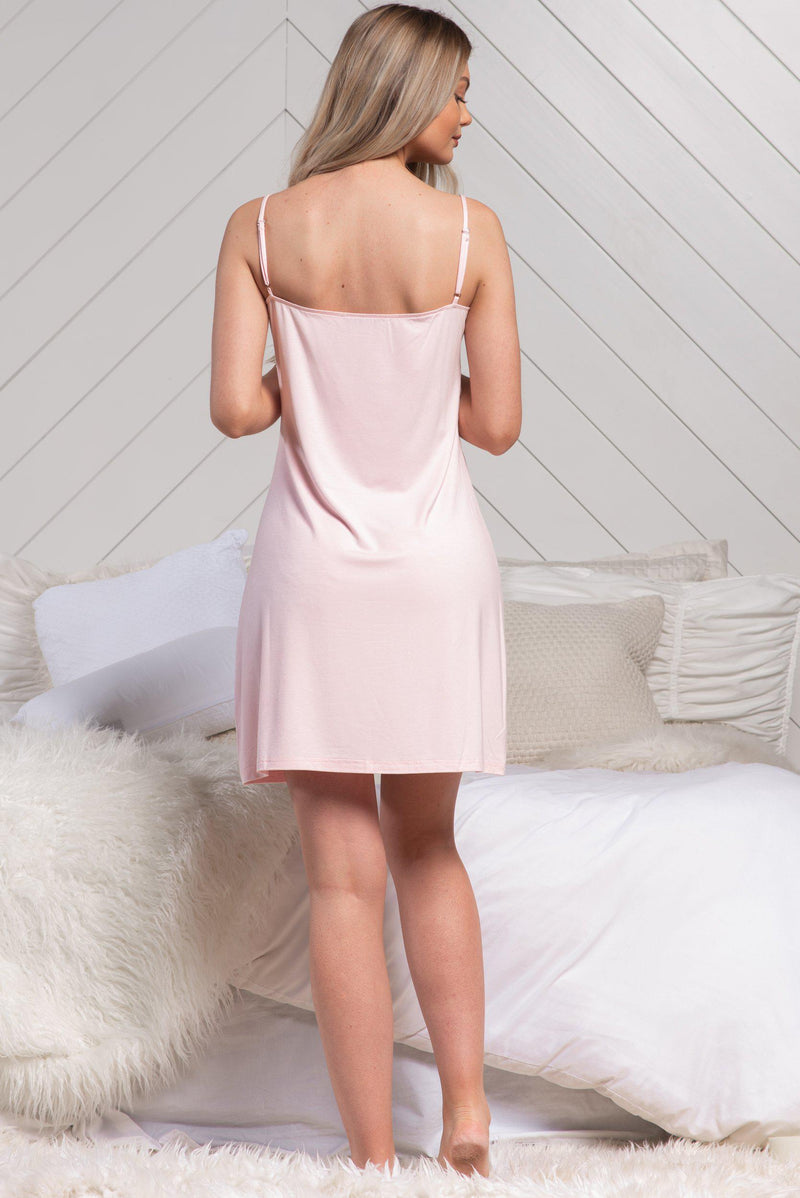 BYE SLIP DRESS [PINK]