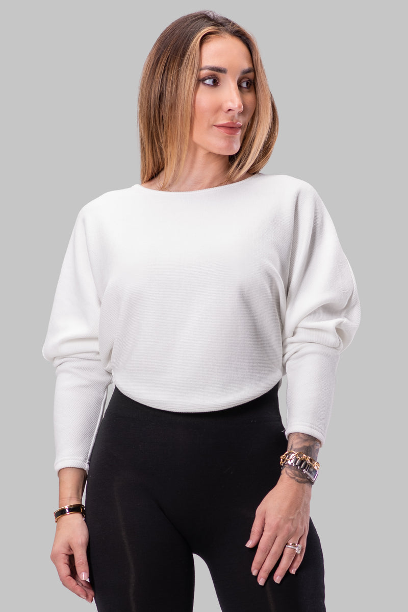 TERESA SWEATER [WHITE]