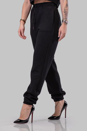 TIFFANY JOGGERS [BLACK]