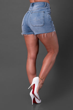 VILMA SHORTS [BLUE WASH]