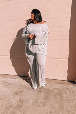 DESIREE PANT [GRAY]