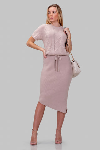 MELINDA DRESS [BLUSH]
