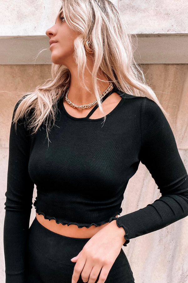 MELISSA TOP [BLACK]
