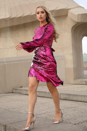 VERA SEQUIN DRESS