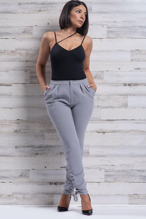 SKYLAR PANTS [GRAY]