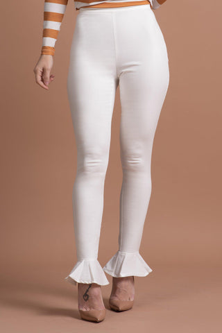 AMIRAH PANTS [WHITE]