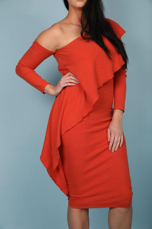 ESTELLE DRESS [ORANGE]