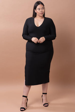 GIGI DRESS [BLACK]