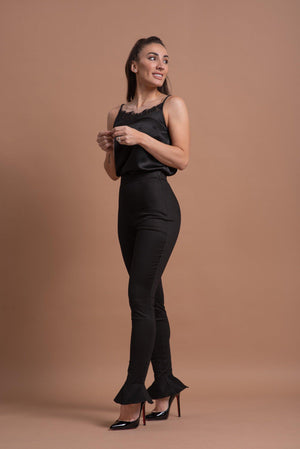 AMIRAH PANTS [BLACK]