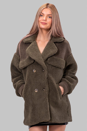 BECKY TEDDY COAT