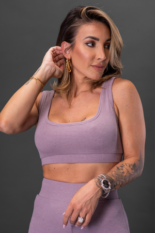 NORMA SPORTS BRA [PURPLE]