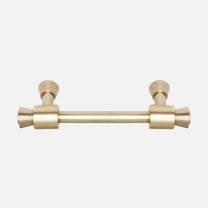 "Brancusi Drawer Pull Raw Brass 5"", 6"", 7"""