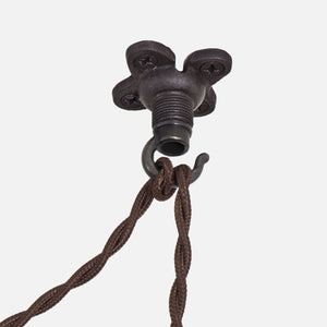 Swag Hook Ceiling Hook - Ebonized Rust