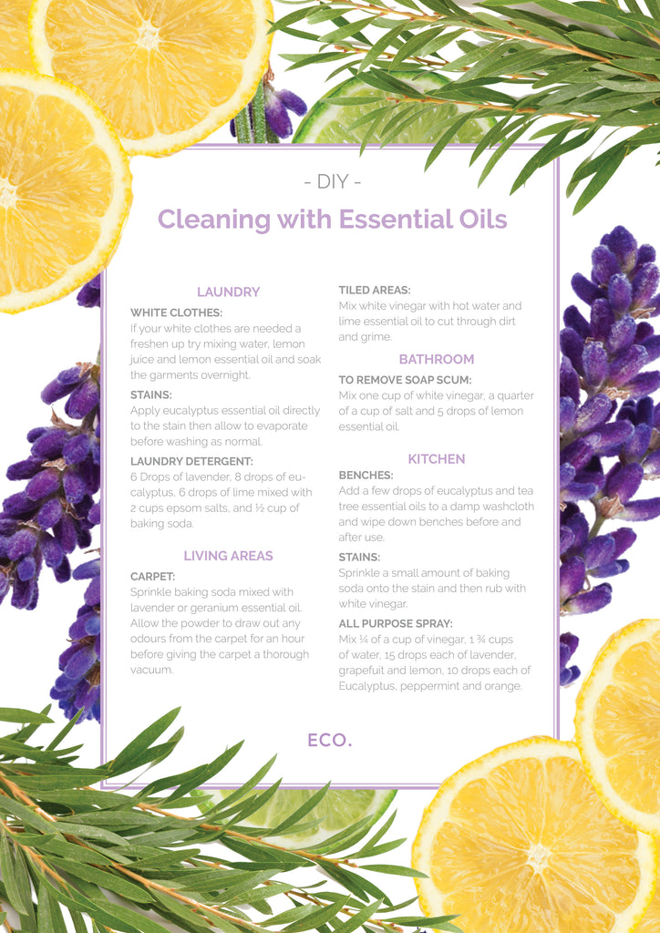 Natural Cleaning With Essential Oils - Eco Modern Essentials