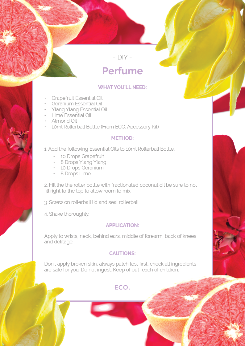 How To Make Your Own Natural Perfume Eco Modern Essentials