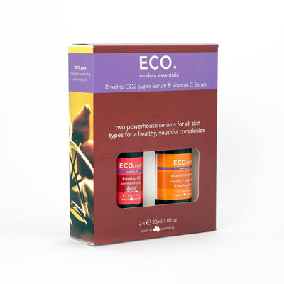 ECO Rosehip CO2 & Vitamin C Serum Duo (638681645111)