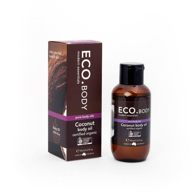 ECO. Certified Organic Coconut Body Oil (638684495927)