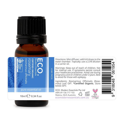 Organic Rosemary Pure Essential Oil