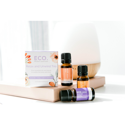 Petite Diffuser and Relax & Unwind Trio Collection