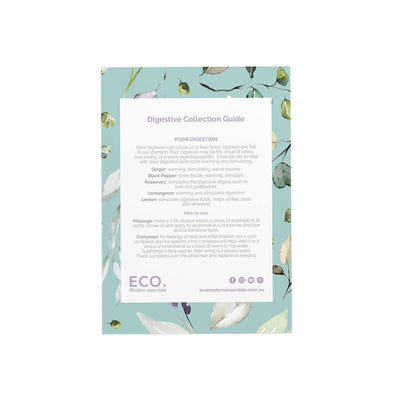 Digestive Collection Recipe Card - ECO. Modern Essentials