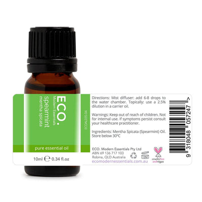 Spearmint Pure Essential Oil - ECO. Modern Essentials