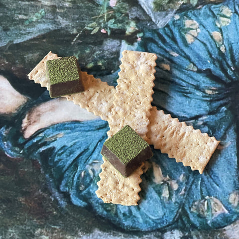 chocolate and crackers