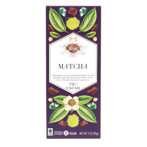 Matcha Dark Chocolate Bar