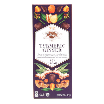 Turmeric Ginger Chocolate Bar