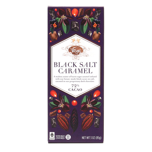 Black Salt Caramel Chocolate Bar
