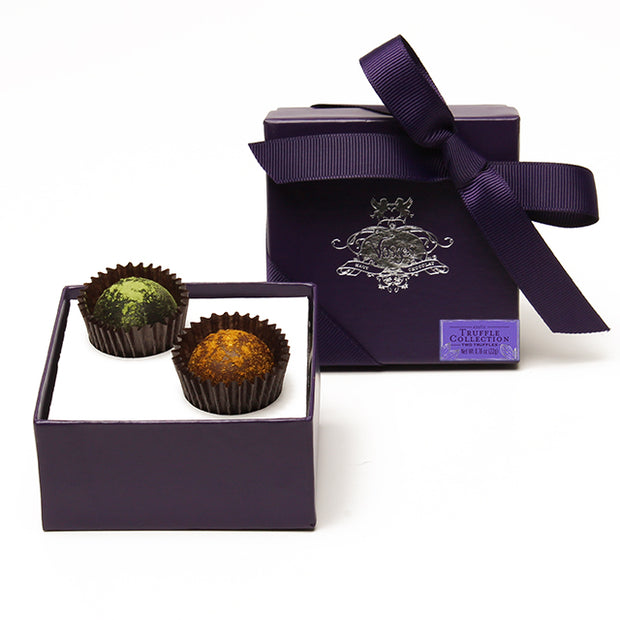 2 Piece Truffle Box Favor