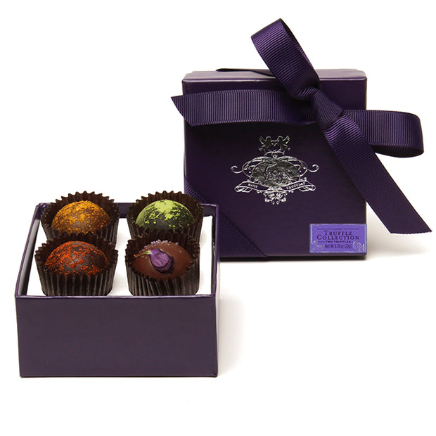 4 Piece Truffle Box Favor