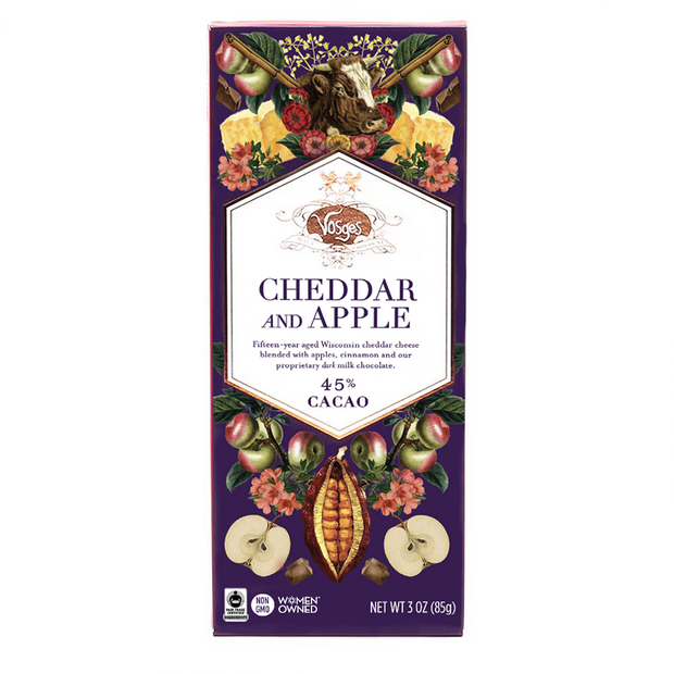 Cheddar and Apple Chocolate Bar