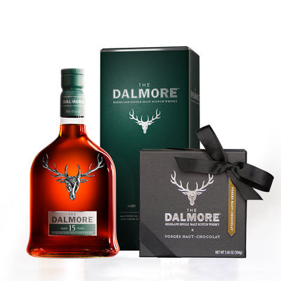 The Dalmore™ Scotch-Infused Chocolate Gift Set, 15 Year Aged